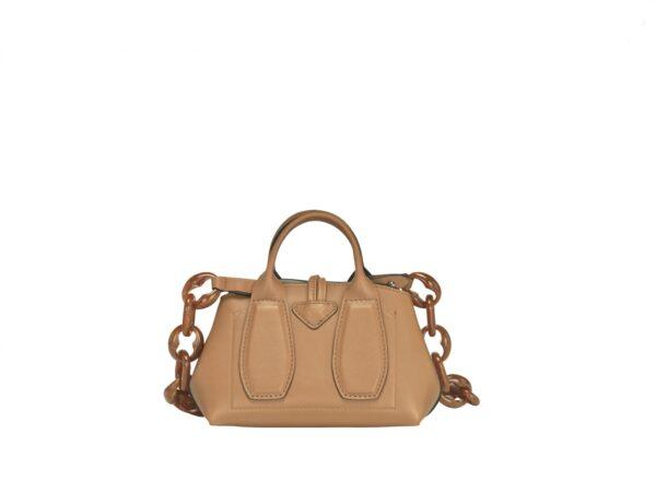 Rosseau rousseau Longchamp honey natural chain Longchamp Ireland Monreal cork leather