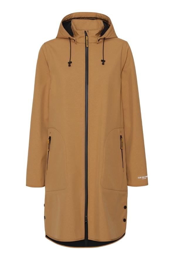 ilse jacobsen ireland raincoat long tan waterproof