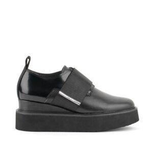 United Nude Ireland Juko Run shoe black Velcro strap
