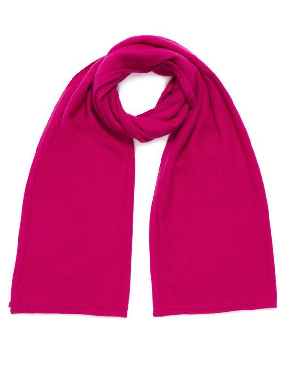 cashmere scarf fuchia berry ireland